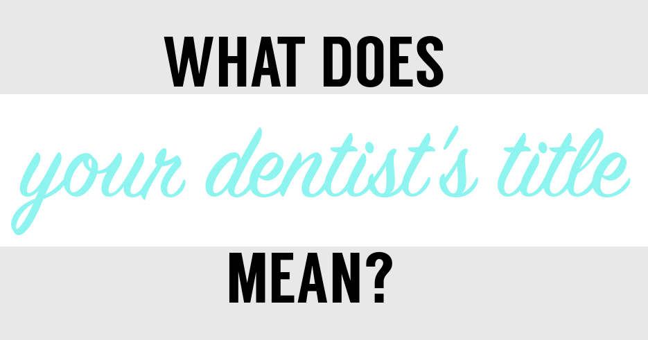 What does dmd mean in dentistry